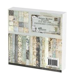Prima Flowers 950194 Nature Garden Paper Stack 6 in. x 6 in. 48 Each Christmas Giveaways, 12 Days Of Christmas, Scrapbook Cards, Scrapbooking, Prima Marketing, Flowers Nature, Paper Decorations, Pattern Paper, Mini Albums