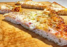 Pizza al trancio fatta in casa Antipasto, Trance, Cheese, Homemade, Cooking, Food, Muffin, Party, Home