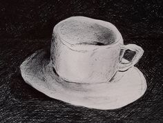 melting cup by keramekis on DeviantArt Painting Gallery, Deviantart