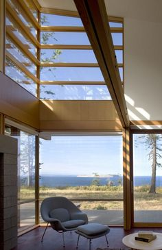 A incredibly beautiful home in Port Townsend, WA. This takes my breath away.