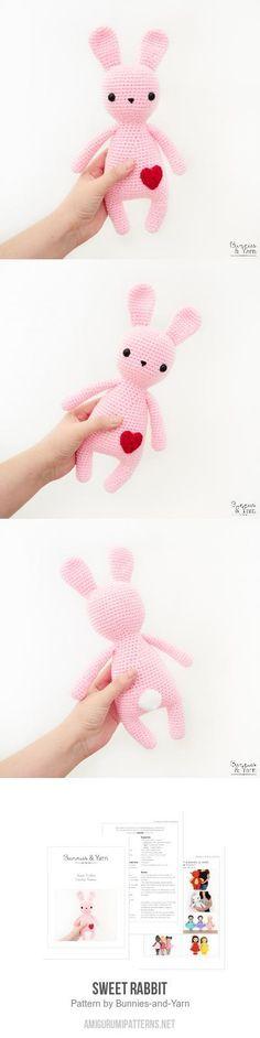 Sweet Rabbit amigurumi pattern