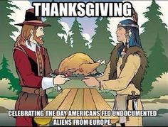 One Meme Perfectly Exposes the Hypocrisy of How We Talk About Thanksgiving - Mic