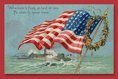 #HappyFlagDay Wishes & Greeting #Card & #Ecard #Vintage #usa #America