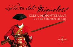 #MiqueletsCAT - La Festa dels Miquelets - Olesa de #Montserrat Montserrat, Cats, Movies, Movie Posters, Gatos, Kitty Cats, Film Poster, Films, Popcorn Posters