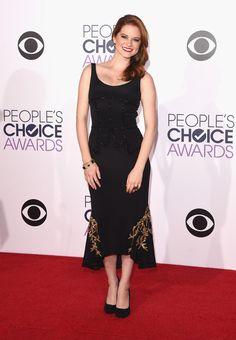 Sarah Drew Photos: Arrivals at the People's Choice Awards