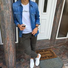 422375b599457 80 Best Superstar images   Man style, Men s fashion styles, Male style