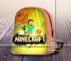 Famous Figure Game TNT - Game Design For Kids School Bag Backpack