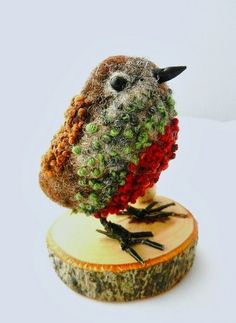 robin felted by adore62,