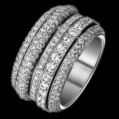 """White gold """"Possession"""" ring by Piaget"""