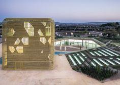Vegas Altas Congress Centre & Auditorium by Pancorbo + De Villar + Chacón + Martin Robles –winner of Architecture more than 1000 square metres