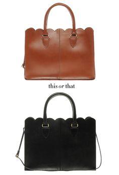 Scallop Handbag