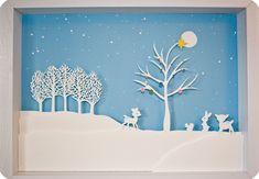 Winter Papercut - Must. Make. This.
