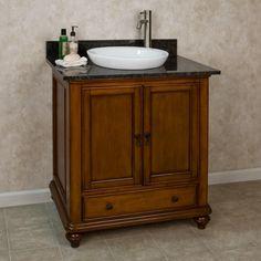 """36"""" Weston Vanity for Semi-Recessed Sink"""
