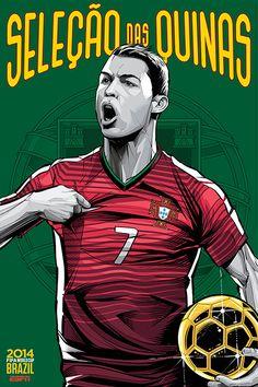 Portugal, Portogallo, Seleçao das Quinas, Cristiano Ronaldo, CR7, Fifa WorldCup Brazil 2014