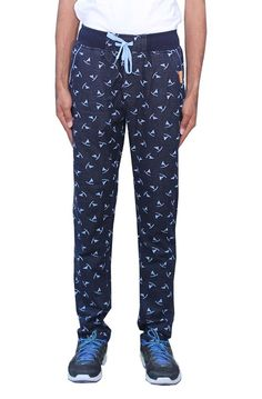 Romano Men's Trendy  Sporty Look Multi-Coloured Fleece Track Pant -- Details can be found by clicking on the image.