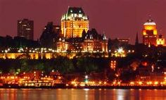 Looking For Cheap Flights To Paris From Quebec About Québec : Québec is a predominantly French-speaking province in eastern Canada with 2 vibrant cities in its south, connected by the Chemin du Roy highway along the Saint Lawrence River Levis, City Lights Wallpaper, Wonderful Places, Beautiful Places, Chute Montmorency, Flights To Paris, Chateau Frontenac, Le Petit Champlain, Road Trip
