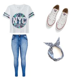 """""""Untitled #1"""" by in-luv-with-food ❤ liked on Polyvore featuring Aéropostale, City Chic, Converse, women's clothing, women, female, woman, misses and juniors"""