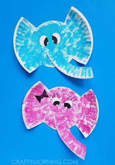 Paper Plate Elephant Kids Craft - 20 Creative Elephant Crafts for Kids To DIY - DIY & Crafts tolle Toddler Arts And Crafts, Animal Crafts For Kids, Craft Activities For Kids, Crafts Toddlers, Circus Animal Crafts, Toddler Paper Crafts, Art Projects For Toddlers, Letter E Activities, Arts And Crafts For Kids Easy