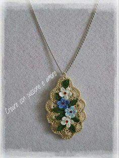 Simple yet Elegant Flower Necklace... :-)