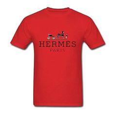 Men 39 s HERMES Short Sleeve T Shirt Amazon com