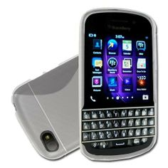 BlackBerry Q10 S-Line Gel Case - Clear