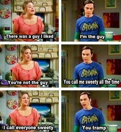 I'm so in love with Sheldon