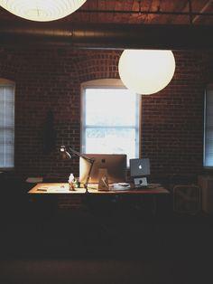 #workspace #office #imac #macbook
