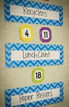 "Use the Aqua Chevron Name Plates (flat) to create your own classroom jobs board - Use them to help teachers and substitute teachers learn students' names. Use them to label learning centers, storage areas, and portfolio collections. Laminate them for use as vocabulary flash cards or word bank labels. Extra long! 3-1/2"" x 11-1/2"" 36 per pack."