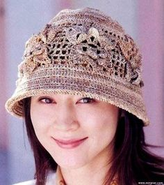 Летние шляпы (вязание крючком, коллекция)