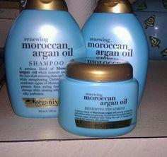 Organix Moroccan Argan Oil Shampoo Conditioner & Treatment