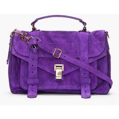 The Perfect Messenger Bag. Handbags On Sale, Luxury Handbags, Purses And Handbags, Purple Handbags, Cheap Purses, Cute Purses, Satchel, Crossbody Bag, Purple Purse