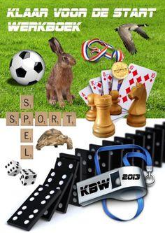 Gratis Werkboek Klaar voor de Start - Kinderboekenweek 2013 thema: sport en spel, klaar voor de start
