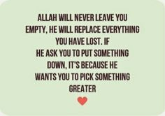 Believe to Allah