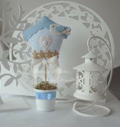 Enfeite de mesa passarinho - Dellicatess for Babies