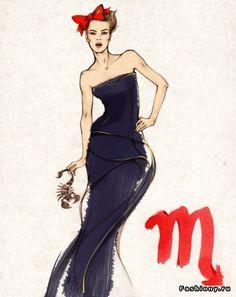 Fashion illustrator Alena Lavdovskaya / алена ладовская