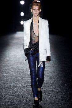 Haider Ackermann Spring 2014 Ready-to-Wear Fashion Show - Irina Kravchenko (Women)