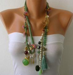 Cadenas de cuentas hecho a mano blanco perla por mislady en Etsy