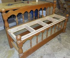 Bonnie's Complete Headboard Bench - Fool4peppers