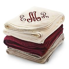 Personalized Plush Blankets , Add Your Message