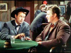 WHISPERING SMITH (1949) - Alan Ladd (pictured) - Robert Preston (pictured) - Brenda Marshall - Donald Crisp - William Demarest - Kay Holden - Mervyn Vye - Frank Faylen - Directed by Leslie Fenton - Paramount - Publicity Still.
