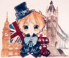 Hetalia (ヘタリア) - England/The United Kingdom (イギリス)