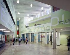 Perspectives Charter School - Corridor