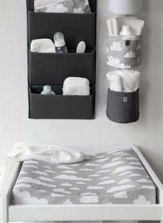 The Only Girl in the House Internet-Tagebuch gives great interiors inspiration for grey nursery, gray nursery, baby room, baby bedroom, kids bedroom. grey changing table with Farg Form scandi change mat. Baby Bedroom, Baby Boy Rooms, Baby Room Decor, Baby Boy Nurseries, Nursery Room, Nursery Decor, Room Baby, Bedroom Kids, Nursery Ideas