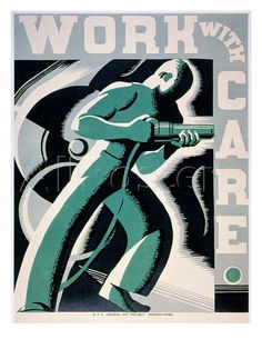 New Deal: Wpa Poster Giclee Print by Robert Muchley at AllPosters.com