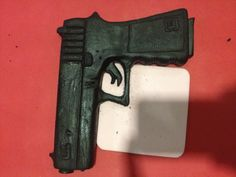 Fondant glock gun
