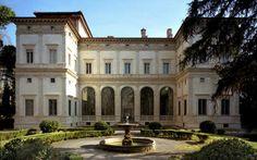 Villa Farnesina-Agostino Chigi built this pleasure villa on the banks of the Tiber