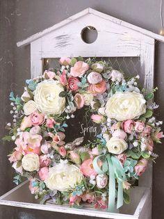 Floral Arrangements, Garland, Floral Wreath, Wreaths, Decoration, Spring, Home Decor, Floral Swags, Dekoration