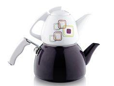 Noble Life 11320 Labirent Porselen Emaye Çaydanlık Takımı :: mallbudur.com