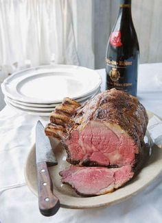Roast Prime Rib of Beef recipe, from Canal House Cooks Every Day cookbook by Christopher Hirsheimer and Melissa Hamilton