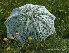Rain guard made of crochet, beautiful ~ Design Patterns Online